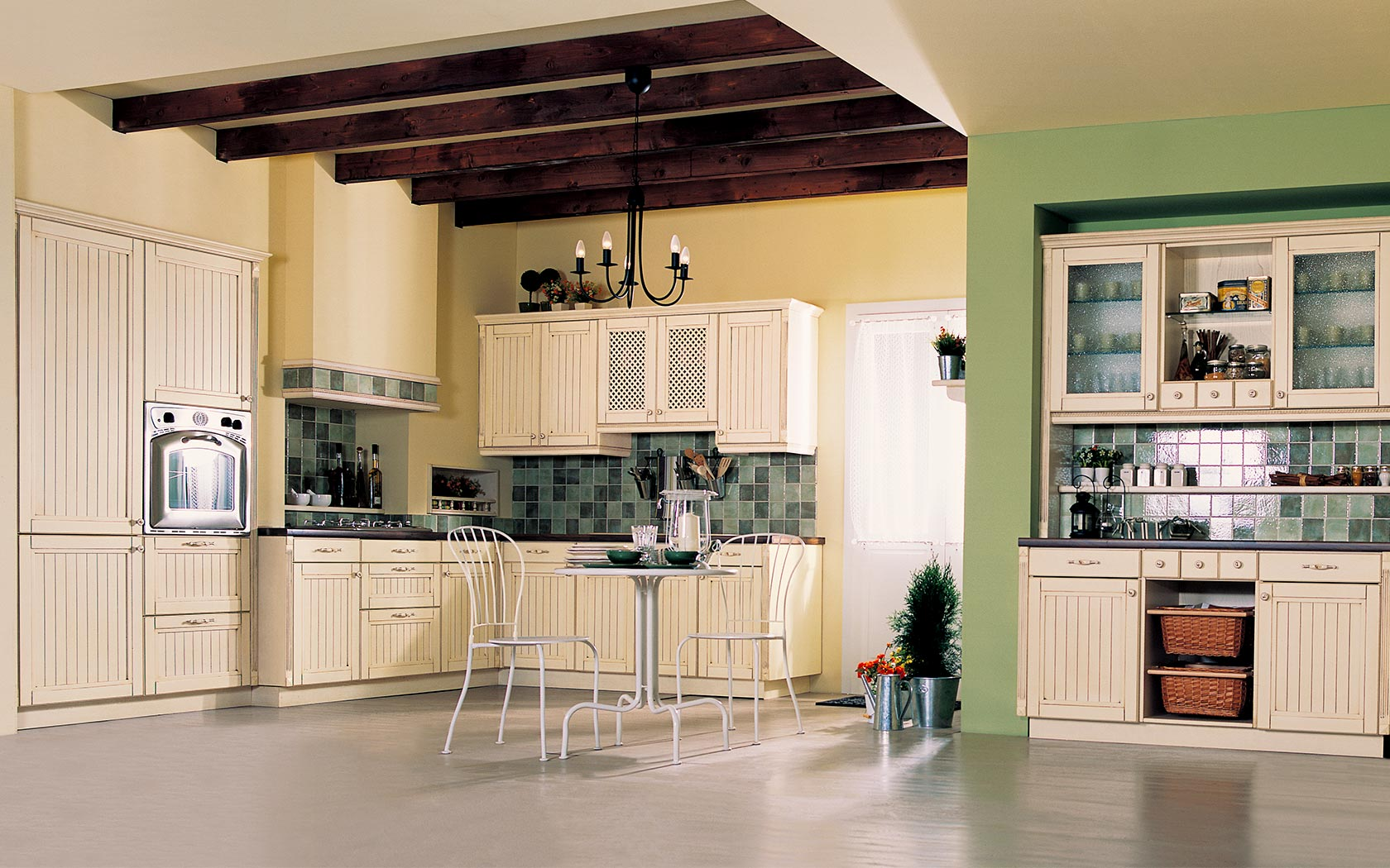 country classic kitchen
