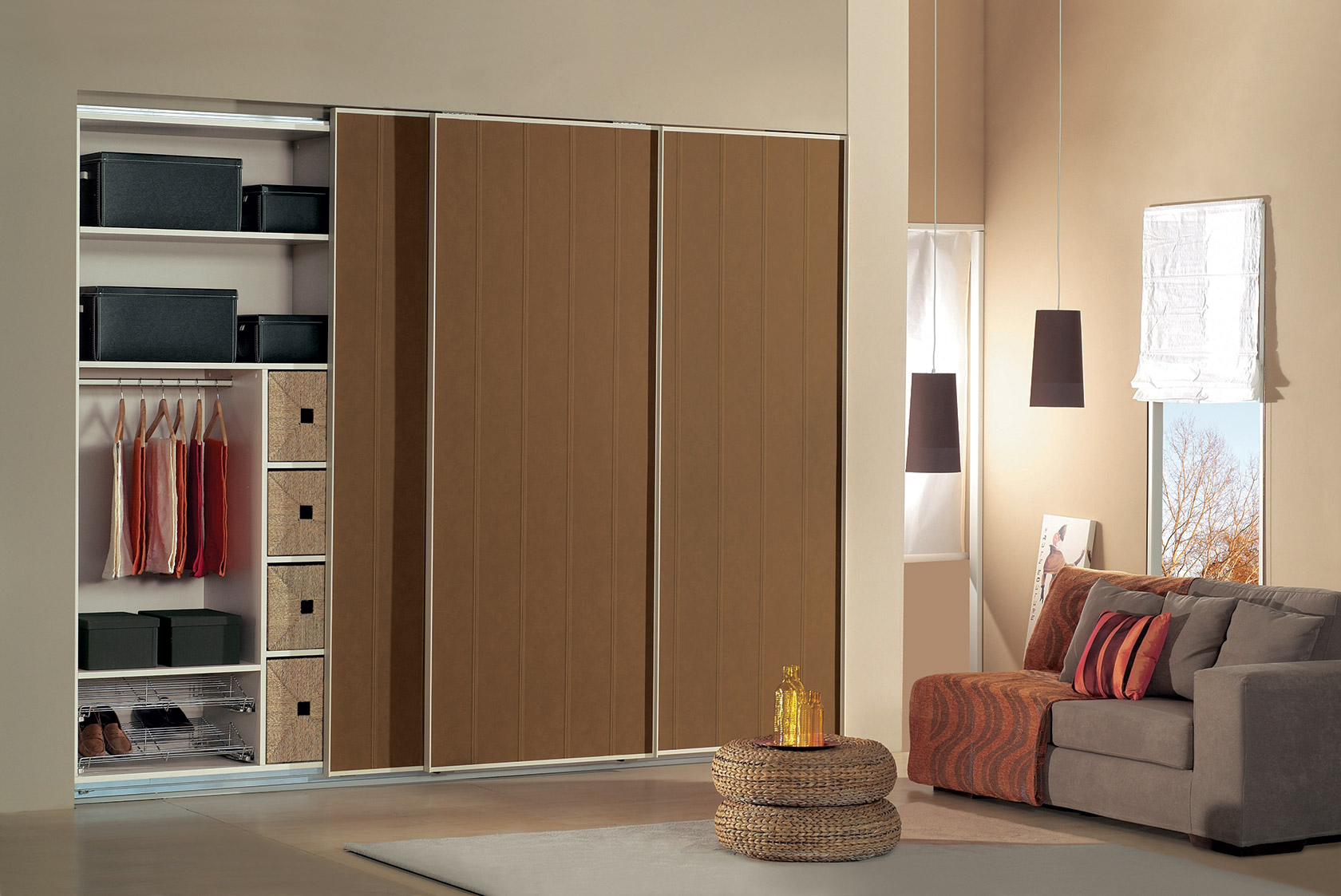 Eliton for Placard encastrable chambre
