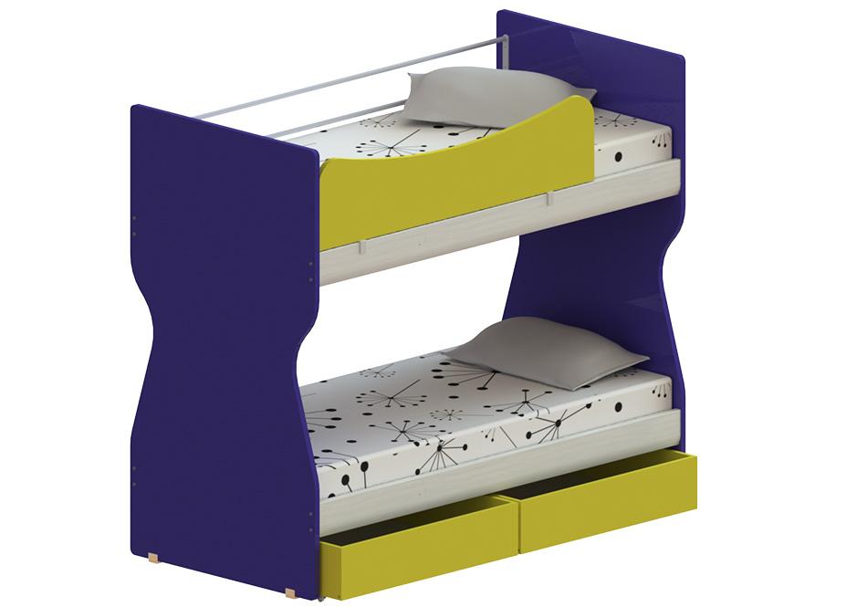 hourglass: με ένα ή δύο κρεβάτια και αποθηκευτικό χώρο – παιδικά έπιπλα