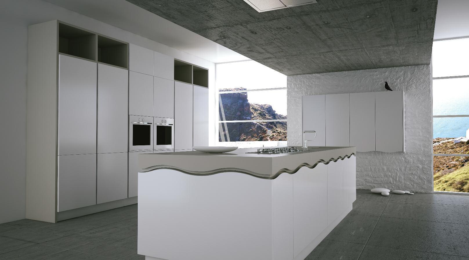 κουζίνα ioulida, waves by eliton
