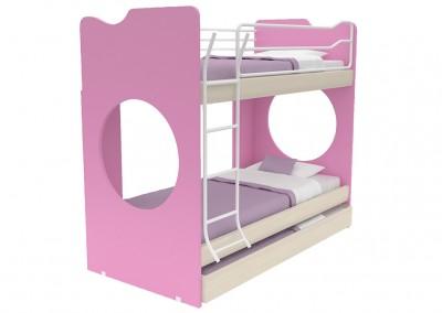 joy: παιδική κουκέτα με διαστάσεις 100x207x179cm
