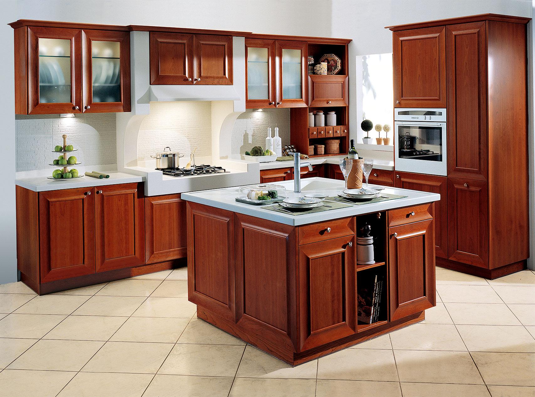 loft classic kitchen