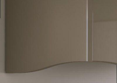 otzias gloss: a brilliant detail, waved side panel for otzias's wall units