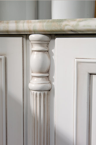 pearl: side panel with 75mm thick classic column