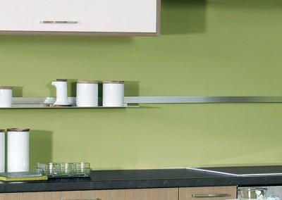 sand: αξεσουάρ κουζίνας από αλουμίνιο για τοίχο ή πλάτη