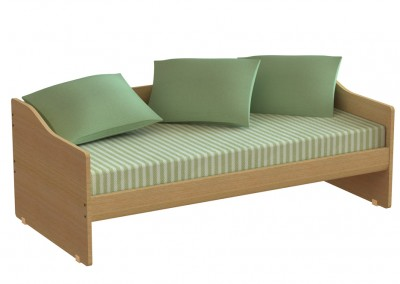 tetra sofa: μονό κρεβάτι, πλάτους 100cm