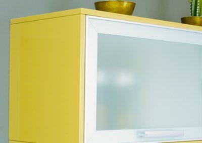view: aluminum glass unit